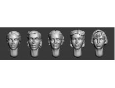 ARM356029 Female heads (set1)