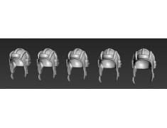 ARM356035 Soviet tank helmets (WWII)