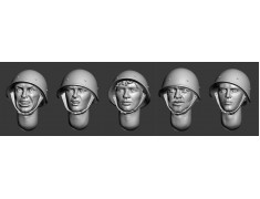 ARM356041 Soviet heads in helmets (WWII) (set 2)