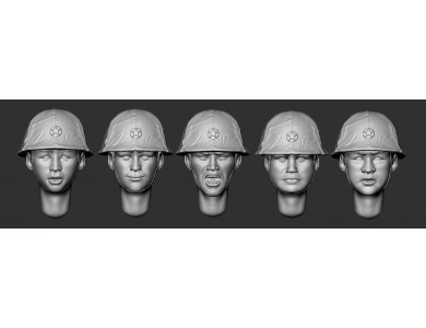ARM356085 Kwantung army soldiers(set 1)