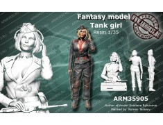 ARM35905 German Tank Girl