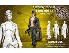 ARM35906 German Tank Girl (2)