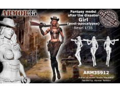 ARM35912 Girl (post-apocalypse)