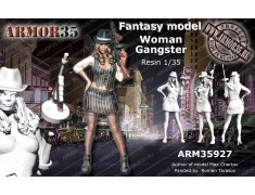 ARM35927 Woman Gangster